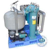 Nursery raw water treatment system