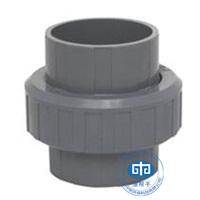 鱼池管道转换头_PP转PVC接头_转换活接-水产养殖设备配件